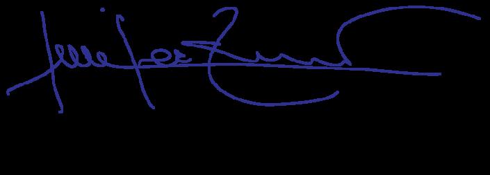 Signature by CEO of Establishment Labs