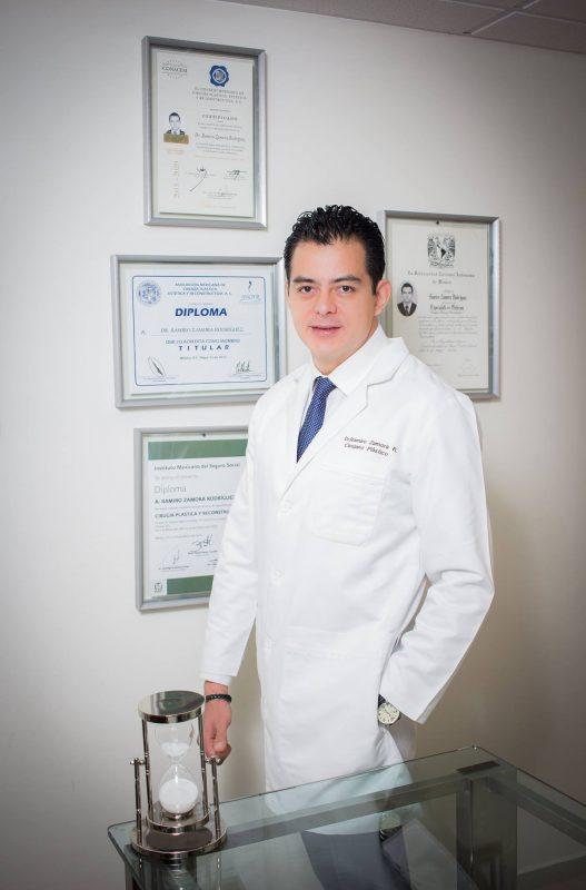 Dr Ramiro Zamora, Ciudad de México